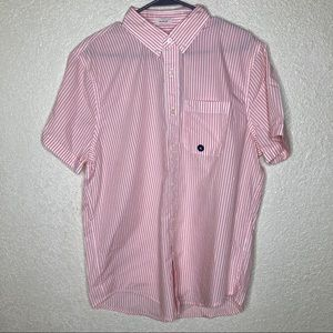 Abercrombie & Fitch Pink Short Sleeve Button Down